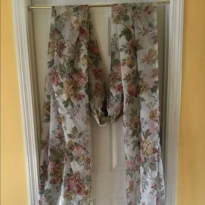 Floral Swag Scarf